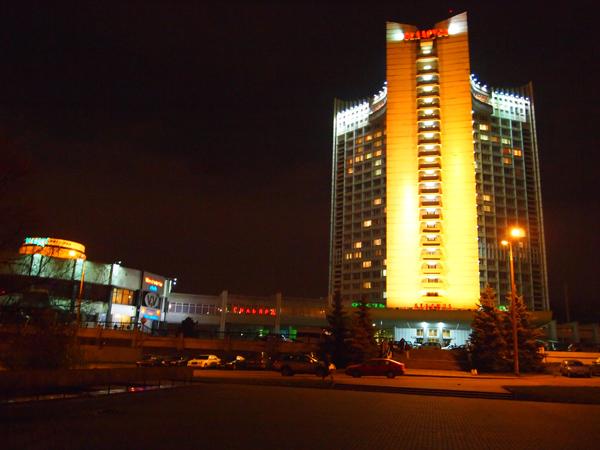 """Здесь мы жили, отель """"Беларусь"""""""