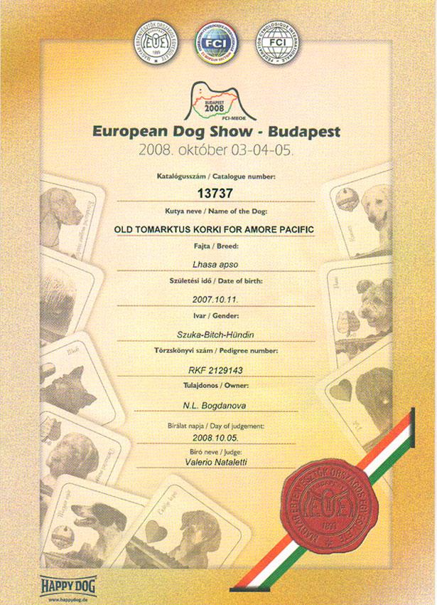 Венгрия, Будапешт, Чемпионат Европы 2008