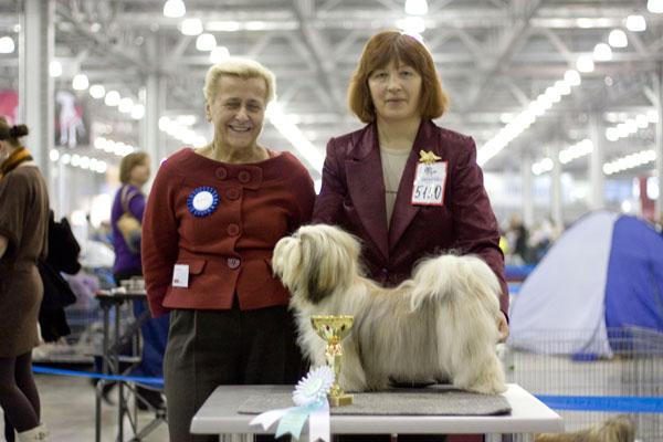 Москва Интернациональная выставка собак CACIB-FCI ЕВРАЗИЯ-2010