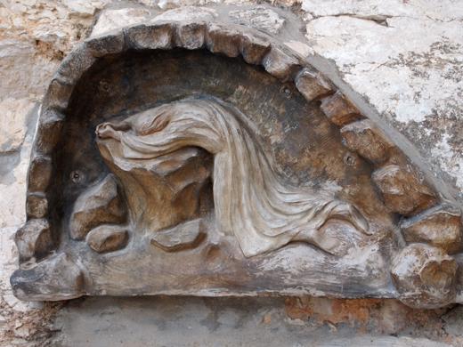камень на котором молился Спаситель