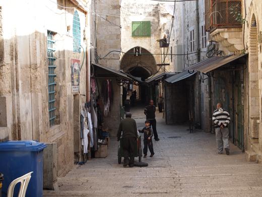 базар и лавочки старого Иерусалима